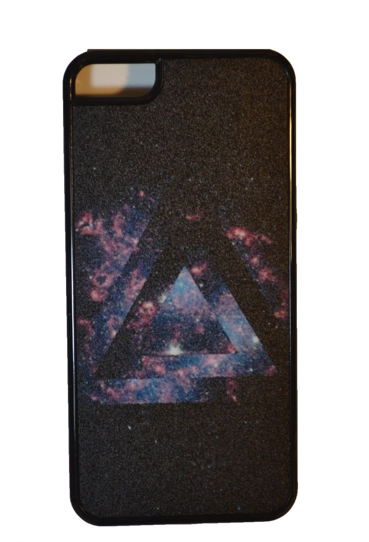 Матовый чехол на iphone 5/5s (Космос 5)