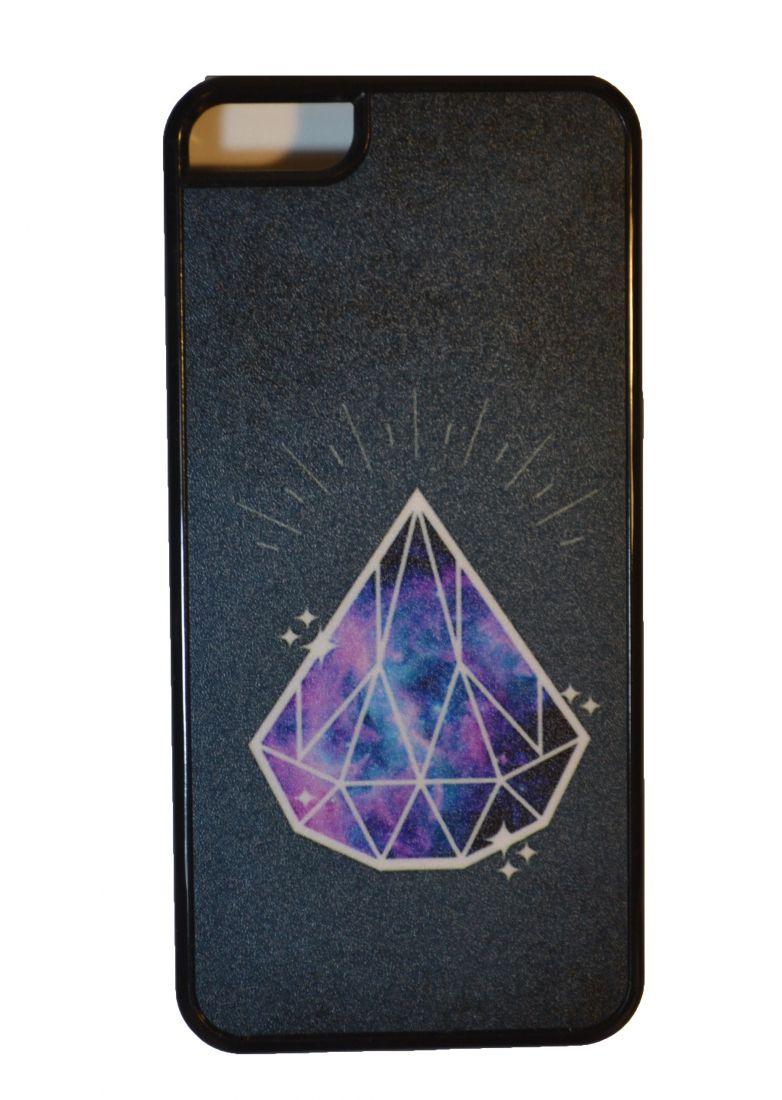 Матовый чехол на iphone 5/5s (Космос 3)