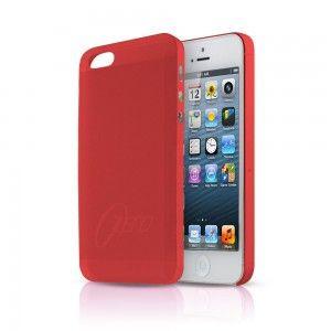 Ультра тонкий чехол 0.3мм для iphone 5/5s красный
