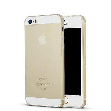 Ультратонкий силиконовый чехол для iphone 5/5s