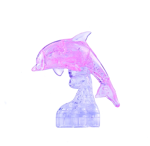 3D головоломка Ice puzzle Дельфин
