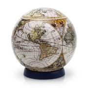 Шаровый пазл Старинная карта мира