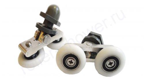 Ролик для душевой кабины VH006-1 (комплект 8шт) Диаметр колеса (от 18,6 до 28мм)