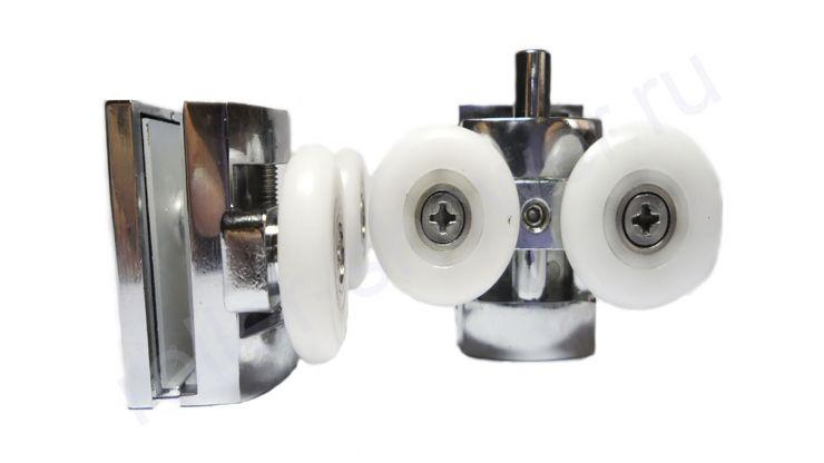 Ролик для душевой кабины VH021 (комплект 8шт) Диаметр колеса ( 23мм, 25мм)