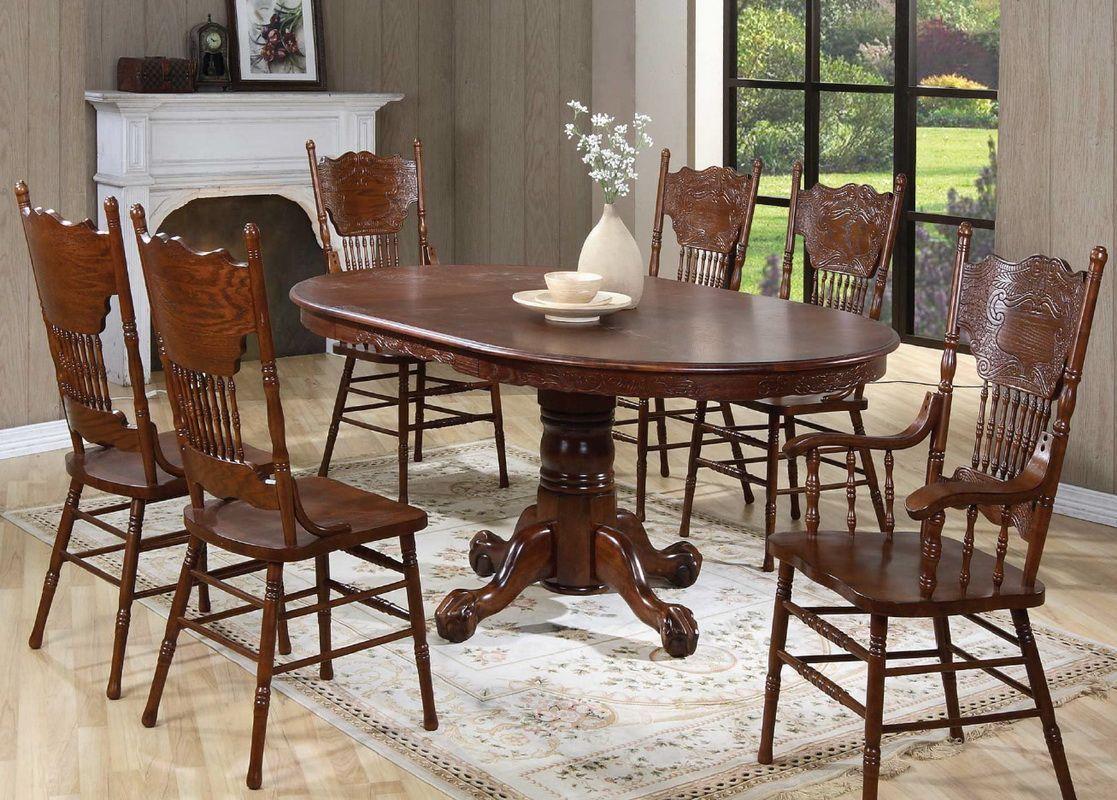 Стол деревянный обеденный раскладной Кантри 3640ТС
