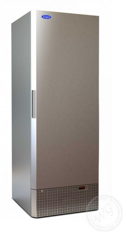 Шкаф холодильный Капри 0,7 М нерж.