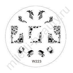 Диск для стемпинга W223