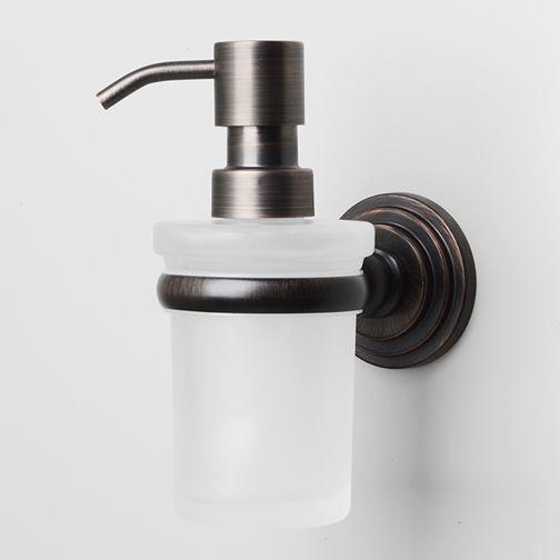 WasserKRAFT Isar K-7399 Дозатор для жидкого мыла стеклянный, 150 ml