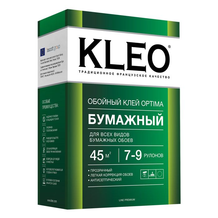 Обойный клей KLEO Optima