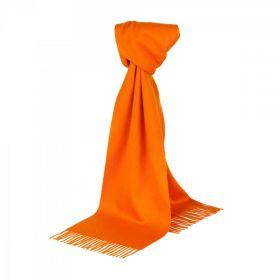 однотонный кашемировый шарф (100% драгоценный кашемир),модный  апельсиновый цвет, высокая плотность 7