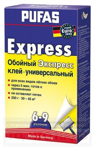 Клей для бумажных обоев ПУФАС EURO 3000