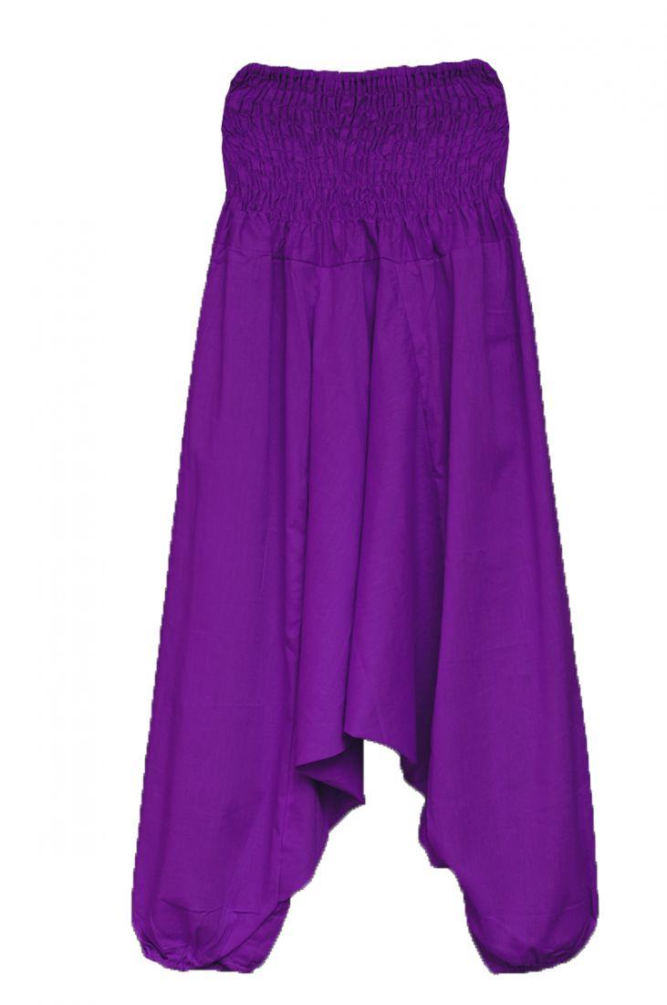 Фиолетовые штаны алладины