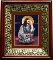 Плач Христа об убиенных младенцах (21х24), киот со стразами