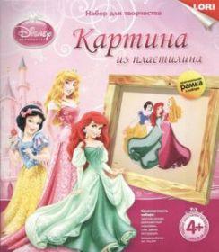 "Картина из пластилина ""Принцессы Disney. Лори"" (арт. Пкд-004) (08174)"