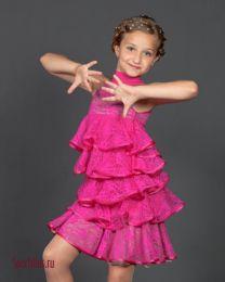 """Платье для девочек, латина """"Fergie"""""""