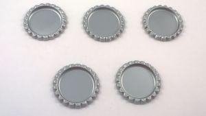 Крышка. Материал - металл. Внутренний диаметр 25 мм, наружный - 31 мм, цвет №36 . (1 уп. = 24 шт)