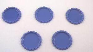Крышка, материал металл, внутренний диаметр 25 мм, наружный 31 мм, цвет №07 (1 уп = 24 шт)