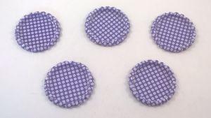 Крышка, материал металл, внутренний диаметр 25 мм, наружный 31 мм, цвет №04 (1 уп = 24 шт)