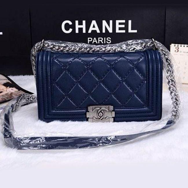 Сумка Chanel Le Boy Flap Shoulder Bag