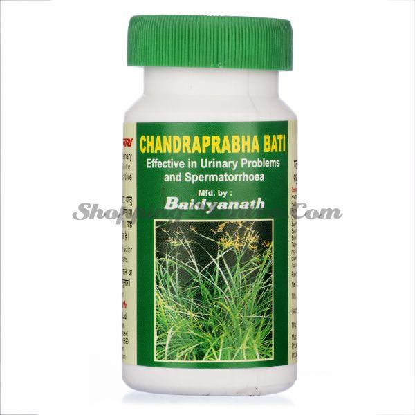 Чандрапрабха Бати для мочеполовой системы Байдьянатх / Baidyanath Chandraprabha Bati