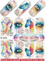 Слайдер-дизайн  N405  (водные наклейки)