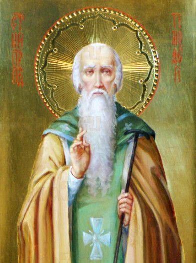 Икона Тимофей Олимпийский (рукописная)