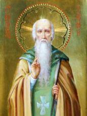 Тимофей Олимпийский (рукописная икона)