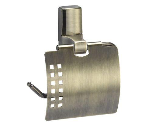 WasserKraft Exter K-5200 Держатель туалетной бумаги с крышкой