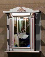 """Шкаф навесной для ванной комнаты  """"Руссильон PROVENCE-80R светлое дерево"""""""