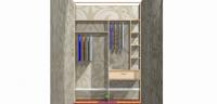 Встроенный шкаф купе на Островского