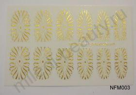 Наклейки для ногтей NFM 003