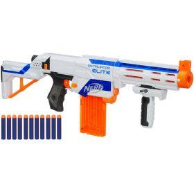 Бластер Nerf N-Strike Elite Retaliator белый 4 в 1