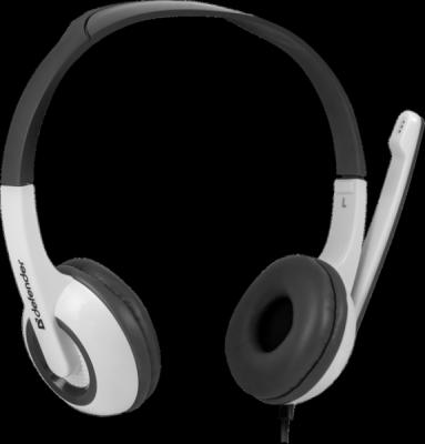 Компьютерная гарнитура Esprit 055 серый, кабель 2 м