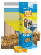 RIO Палочки для волнистых попугайчиков и экзотов с медом (2*40 г)