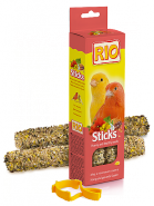 RIO Палочки для канареек с медом (2*40 г)