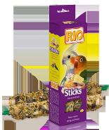 RIO Палочки для средних попугаев с медом и орехами (2*75 г)