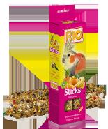 RIO Палочки для средних попугаев с тропическими фруктами (2*75 г)
