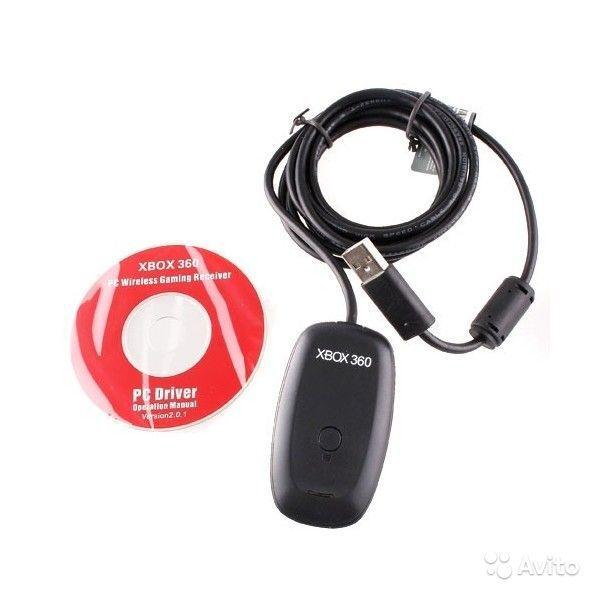 Беспроводной ресивер для джойстика x-box 360 (Wireless Gaming Receiver for Windows PC) (PC)