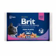 "Brit Premium Fish Plate Набор ""Рыбная тарелка"" (4х100 г)"