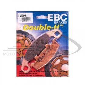 EBC Тормозные колодки FA129HH DOUBLE H Sintered Kawasaki  передние