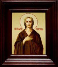 Мария Египетская (21х24), простой киот
