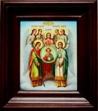 Собор архангела Михаила (21х24), простой киот