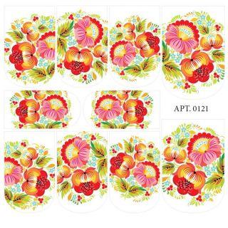 Слайдер-дизайн для ногтей № 0121