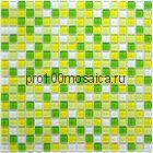 Tropic стекло 15*15. Мозаика серия CRYSTAL, размер, мм: 300*300 (BONAPARTE)