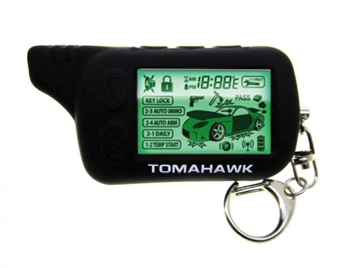 Чехол силиконовый для брелока Tomahawk TZ-9010/9020/9030