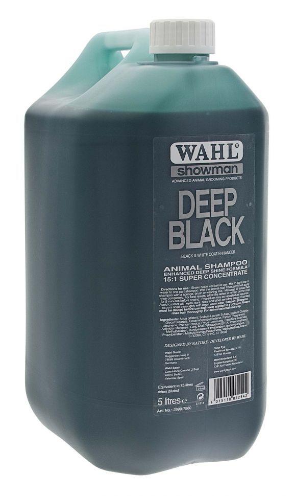 Профессиональный шампунь Wahl Deep Black 5L