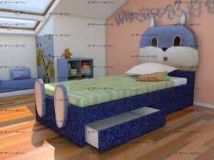 Кровать Зайка (ВМК Шале)
