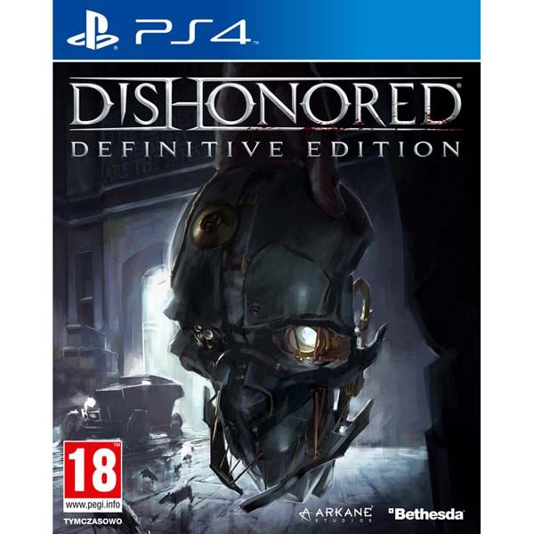 Игра Dishonored definitive edition (PS4)