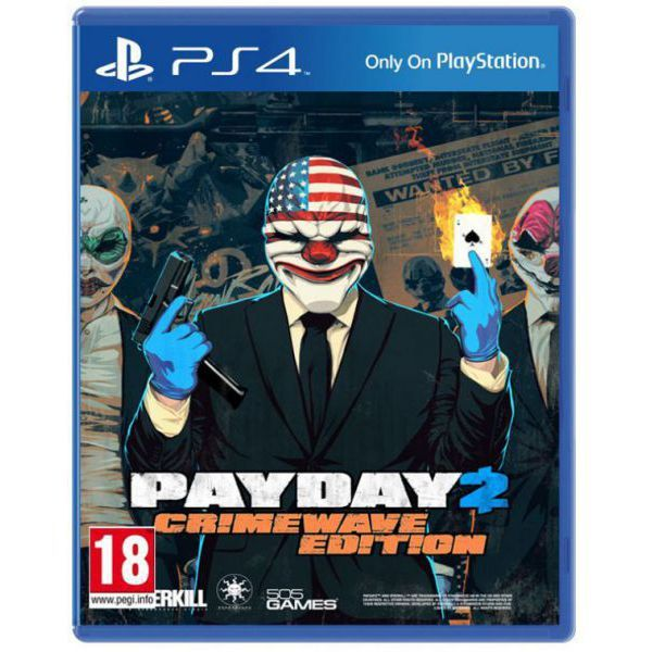 Игра Pay Day 2 (PS4)