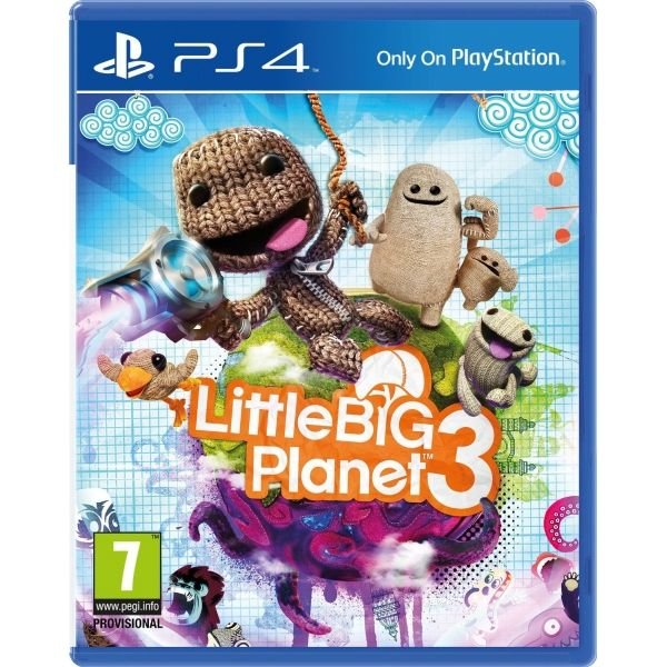 Игра Little Big Planet 3 (PS4)